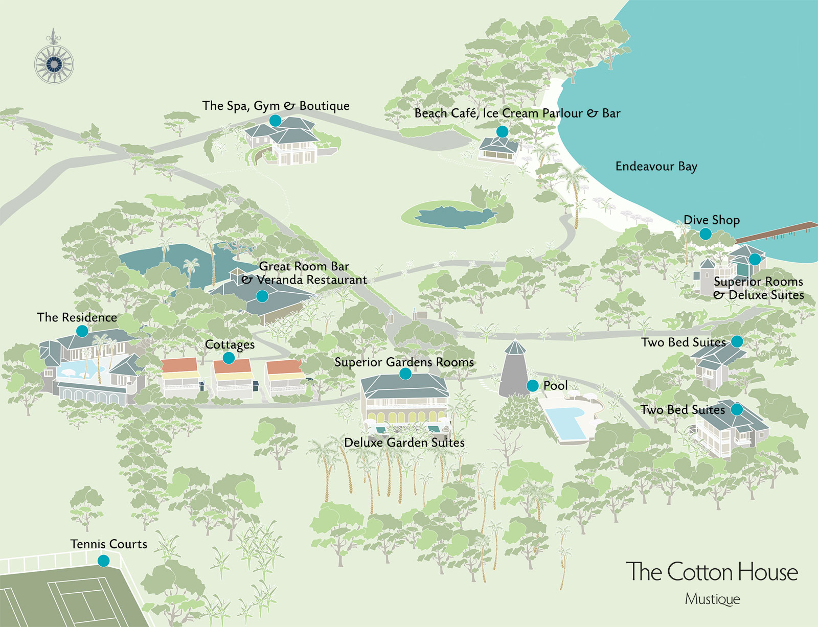 Cotton House Map